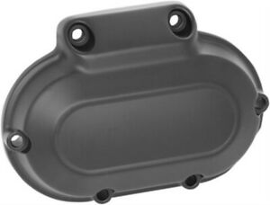 Black Transmission Side Cover Harley Touring 07-13 FXD Dyna 06-17 Softail 07-17