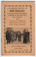 1944 CONDENSED HISTORY New Orleans Louisiana CHARLES ROSENTHAL NOLA Map