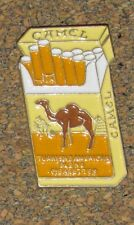 C01(bc02)  PIN VINTAGE CAMEL CIGARETTES TURKISH AMERICAN