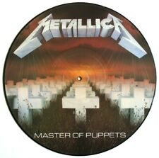 EX! METALLICA MASTER OF PUPPETS PICTURE DISC LP! First Press, no barcode, 1986