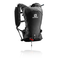 Salomon Mens Agile 6 Set Running Backpack Black Sports Breathable Reflective