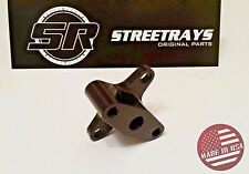 StreetRays [SR] 90 DEGREE FUEL PRESSURE REGULATOR RAIL RELOCATOR B16 B18 (Black)