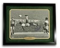 "Pele Signed 16x20 Framed ""Bicycle Kick"" Autograph 16x PSA/DNA COA Brazil Cosmos"