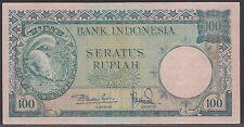 Indonesia 100 Rupiah 1957, VF+, Pick 51 / H-243b