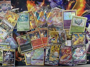 Pokemon Card Lot Charizard Evolutions Celebi Ex Charizard V Eevee Vmax + More