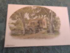 1905 Post Office Fallsburg Sullivan County New York NY Catskills Post Card