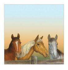 """Lot of 7 Sheets  ~ Sugartree  12"""" x 12""""  Scrapbooking Paper Horse Over The Fence"""