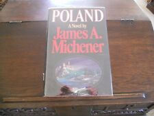 POLAND, James A. Michener, SIGNED 1st ed/1st print 1983 Random House HCDJ