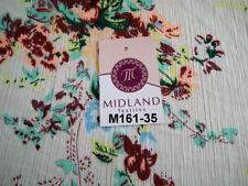 Flowers & Plants Chiffon Craft Fabrics