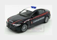 Alfa Romeo Giulia Carabinieri 2015 Blue White BURAGO 1:24 BU01272-GIULIA
