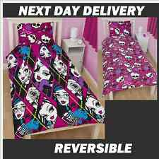 MONSTER HIGH BEASTIES DOONA QUILT DUVET COVER SET,GENUINE,REVERSIBLE