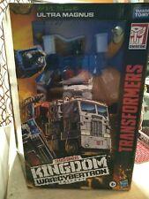 ULTRA MAGNUS Transformers Kingdom War For Cybertron Trilogy Damaged Package
