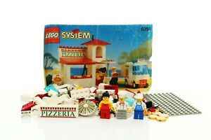 Lego Classic Town Food & Drink Set 6350 Pizza To Go 100% complete +instr. 1994