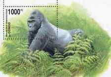Timbre Animaux Singes Gorilles Congo RD BF69 ** lot 23480