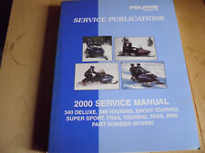 Polaris Snowmobile 2000 340 Sport Trail RMK Shop Repair Service Manual 9915980