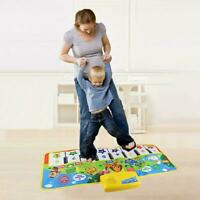 Musical Mat Carpet Touch Play Piano /w 5 Animals Sound Baby Rug Educational Toys