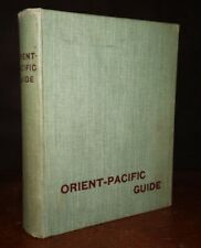 1900s Orient-Pacific Guide 6th Edition Travellers by Sea Land Ship Plans Images