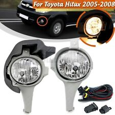 Right + Left Front Bumper Fog Light Spot Lamp Fit For Toyota Hilux 2005-2008 New