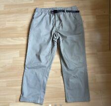 Gramicci G Pants EU Medium Khaki/Grey Cropped Leg