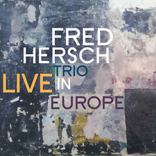 FRED HERSCH TRIO-LIVE IN EUROPE-IMPORT CD WITH JAPAN OBI F04