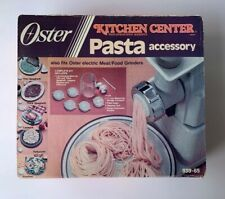 Vintage Oster Pasta Accessory 939-65 Kitchen Center Food Prep Appliance New