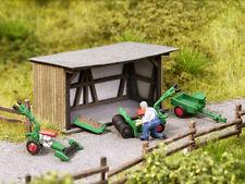 Noch Scene in a Box Park Gardeners 12041 HO Scale (suit OO also)
