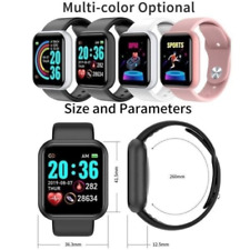 2020 Smart Watch Bluetooth Heart Rate Blood Pressure Fitness Activity Tracker