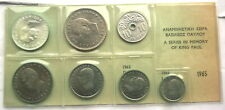 Greece 1965 Mint Set of 7 Coins,UNC,With Silver Coin