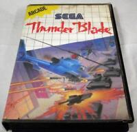 Thunder Blade Sega Master System *Complete*