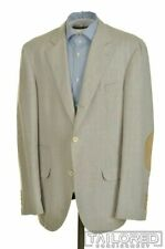 BRUNELLO CUCINELLI Gray Check COTTON Blazer Sport Coat Jacket - EU 54 / US 44 R