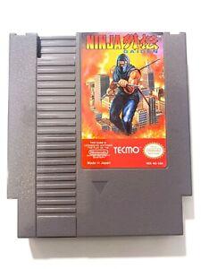 Ninja Gaiden - Original Nintendo NES Game Tested + Working & Authentic