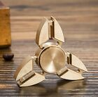 Metal Brass EDC Fidget Hand Finger Spinner Focus Toy Hybrid Ceramic Bearing ADHD