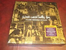 JIMI HENDRIX WEST COAST SEATTLE BOY 8 LP 180 GRAM 1ST EDITION RARE NUMBERED BOX
