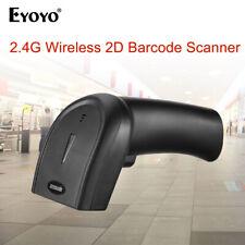 Eyoyo Handheld 2.4G Dongle Wireless & Wired 1D 2D QR Barcode Scanner Reader