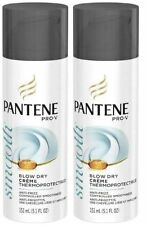 Pantene Pro-V Thick Hair Blow Dry Creme Thermoprotectrice - 5.1 oz (2 Pack)