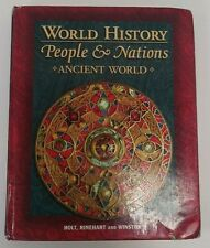 World History People and Nations Ancient World by Holt Rinehart Winston Harcourt