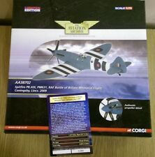 Corgi AA38702 Spitfire PR.XIX PM631 RAF BoBMF Coningsby Ltd Ed. Factory Sample