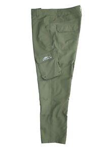 Men's Grundens Outdoor Breakwater Fishing Pants Green Size 33 X 28