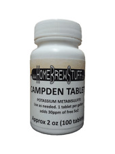 Campden Tablets - (approx 100 tablets) Potassium Metabisulfite