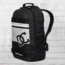DC Shoes Rucksack Grind Backpack Board-Halter schwarz grau Laptop Fach Notebook