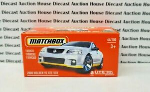 Matchbox 2008 Holden VE UTE SSV White 2021 New Release