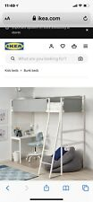 loft bed with desk used From Ikea