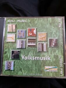 Volksmusik Akai s1000 cd rom sample library vol III