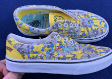 Vans x The Simpsons Mens Itchy and Scratchy shoes Yellow Men's 5 Women's 6.5