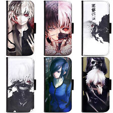 Anime Tokyo Ghoul RE Ghoul√A  Collection A Wallet Flip HTC Nokia Oppo Xiaomi