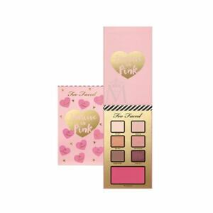 Too Faced I believe in Pink eye shadow, blush palette GENUINE