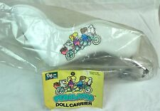 Pedal Pals Vintage Doll Carrier Seat For Childs Bike Mount Toy 1980s Taiwan