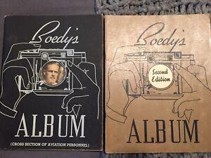 Boedy's Album Set 1938-39: Both signed by Ken Boedecker Historic Aviation Books