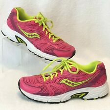 90db0d1c1289 Saucony Oasis Running Athletic Womens Shoes Size 8 Pink Green Lace Ups 15096 -20