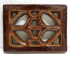Antique Ventilator or Grill Tile